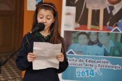 Pequeños artistas participaron en la Feria de Ciencias Educativa