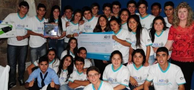 """A Toda Pila"": premiaron a las escuelas que más recolectaron"