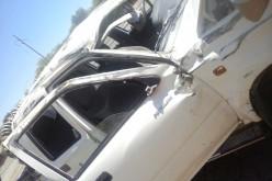 Primer accidente en la nueva autopista: a tener cuidado…