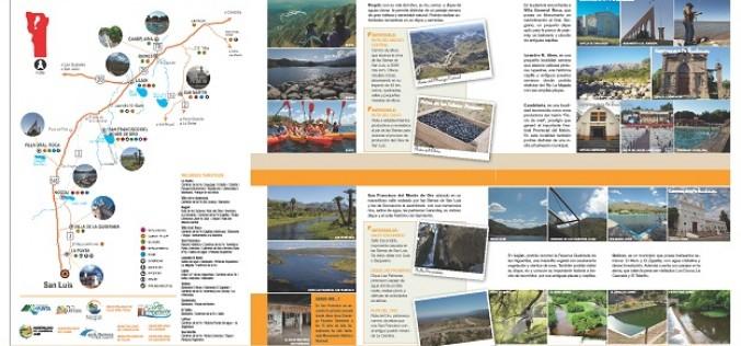 Lanzan folletería turística del Corredor Norte Puntano
