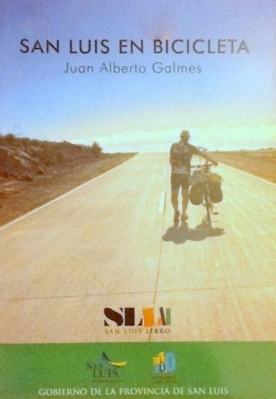 "Tapa del Libro ""San Luis en Bicicleta""."