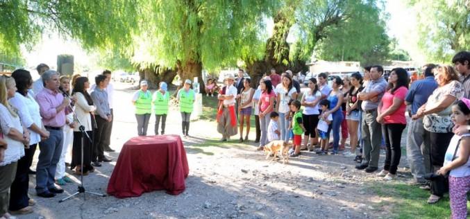 Comenzó la construcción de viviendas para siete familias de Nogolí (+video)