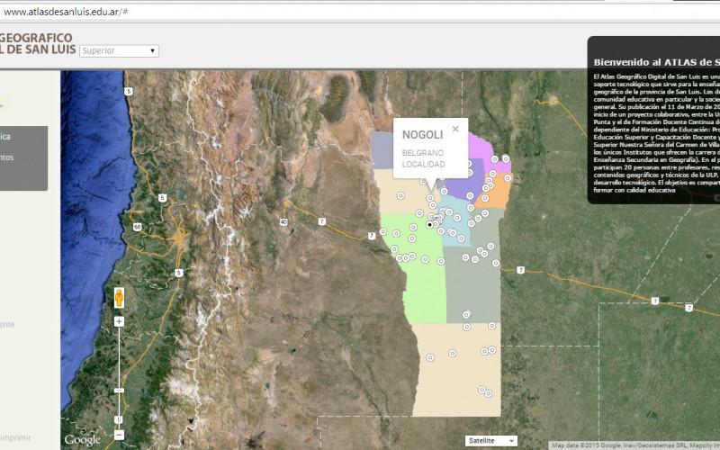 El nuevo Atlas de San Luis ya está online