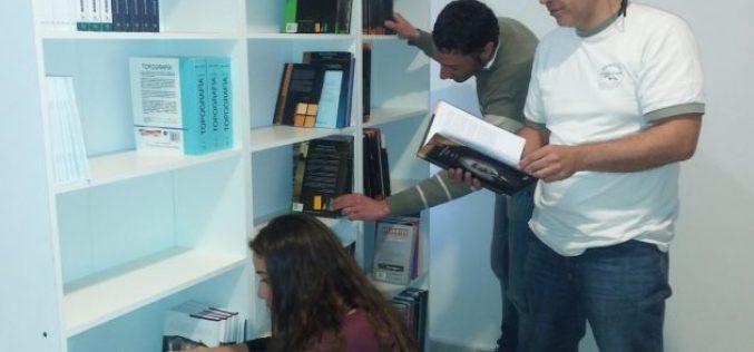 La UNLC prepara una moderna biblioteca con soporte impreso y digital