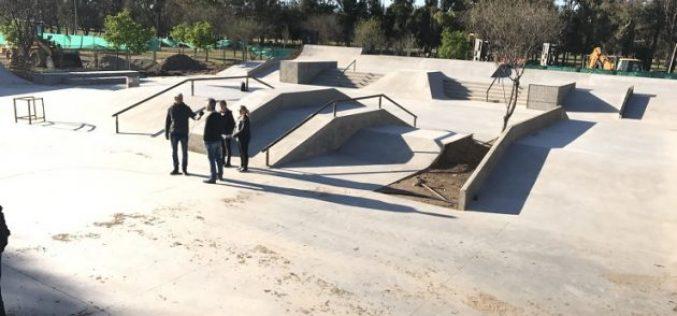 Parque de las Naciones: las pistas de deportes extremos tienen un avance del 75 %