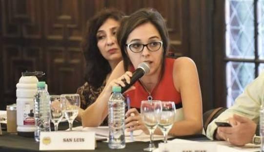 Natalia Spinuzza participó del Consejo Federal de Educación