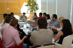 El ministro Mones Ruiz se reunió con intendentes