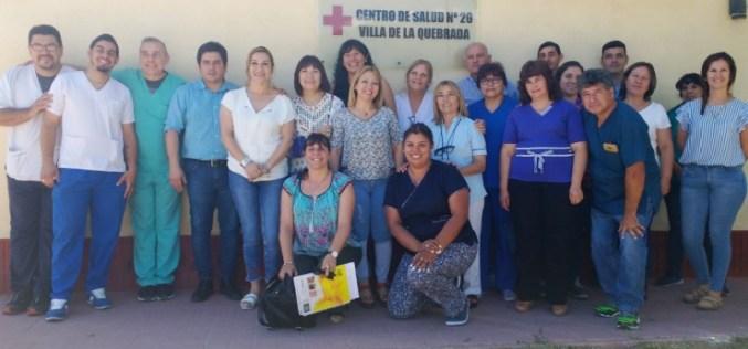 El Centro de Salud de Villa de la Quebrada tiene nueva directora