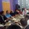 El ministro Ali está reunido con la Plana Mayor de la Policía provincial