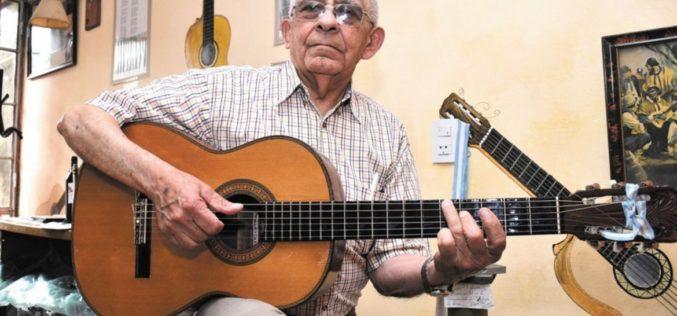 Nacho Sánchez, un guitarrero de ley