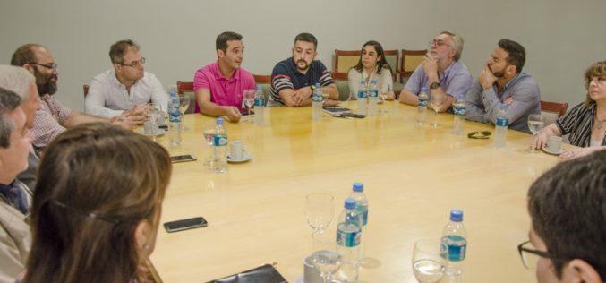 Reunión de AEHGSL y el Ministro de Turismo Sergio Tamayo.