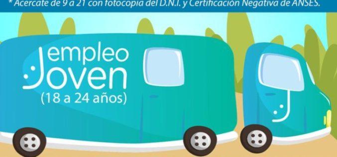 El trailer de Empleo Joven llega a San Luis