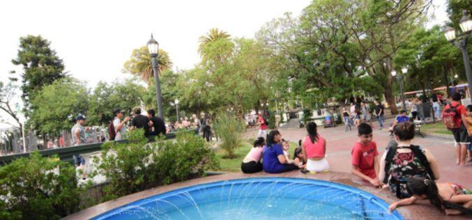 Comienza un fin de semana caluroso en todo San Luis
