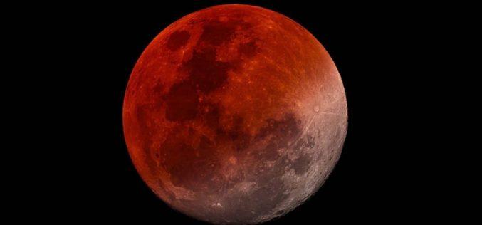 La «luna de sangre» también se podrá ver en la provincia