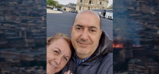 Un puntano vivió muy de cerca el incendio de Notre Dame