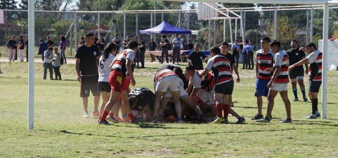 Nuevo encuentro de rugby en la Penitenciaría Provincial