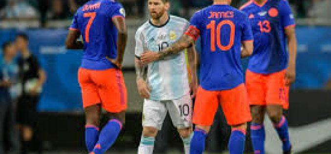 Copa América: Argentina debutó con una derrota ante Colombia, sin atenuantes