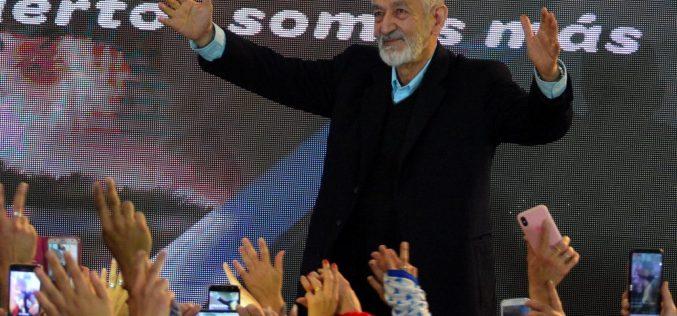 Alberto Rodriguez Saa, re electo Gobernador de San Luis.