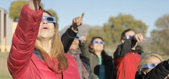 Con entrada libre y gratuita, el Parque Astronómico te invita a disfrutar del eclipse solar total